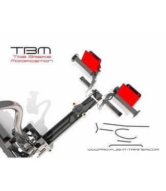 Pro Flight Trainer Toe Brake Modification