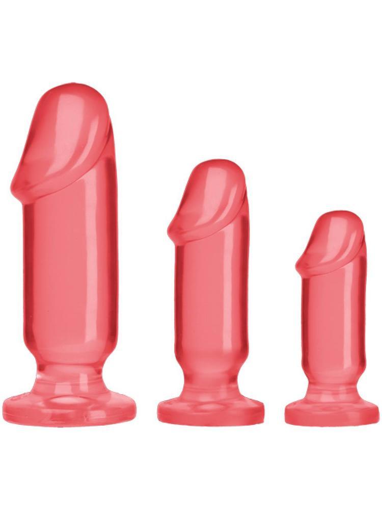 Crystal Jellies Anal Startpaket - Pink