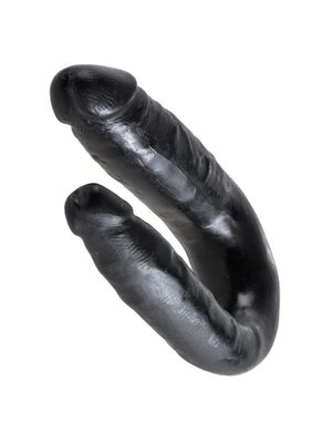 King Cock King Cock Small Double Trouble Black