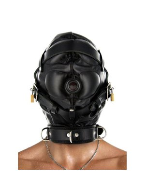 Strict Leather Strenge Lederhaube für Sinnesentzug