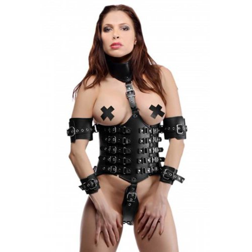 Strict Leather Ultimate Lockdown Korsett für Damen
