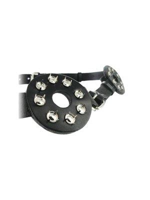 Strict Leather Brust Bondage Harness mit Spikes und Nippellöchern