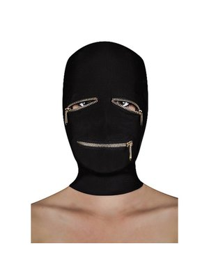 Ouch Extreme Reißverschlussmaske mit Reißverschlüssen für die Augen und den Mund