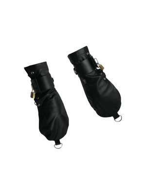 Strict Leather Enge Bondage-Handschuhe aus Leder