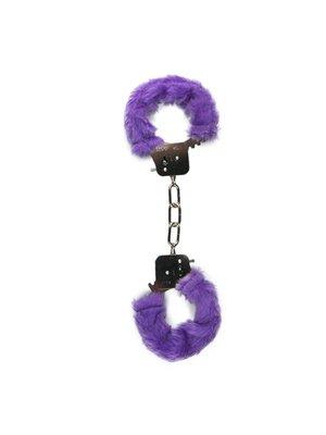 Easytoys Fetish Collection Plüschige Handschellen - Violett