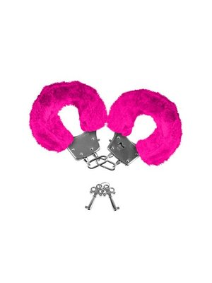 Neon Luv Touch Neon Pelzmanschetten - pink