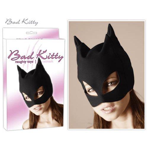 Bad Kitty Kopfmaske schwarz