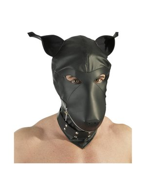 Fetish Collection Lederimitat Dog Mask