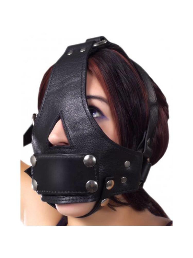Strict Leather Bishop Kopfharness mit entfernbarem Knebel