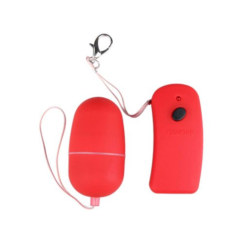 You2Toys Roter Kugelvibrator mit Fernbedienung