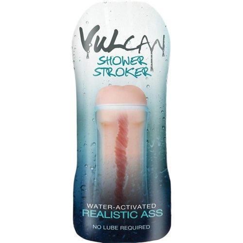 Vulcan CyberSkin® H2O Vulcan Masturbator für die Dusche, realistischer Po