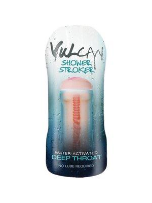 Vulcan CyberSkin® H2O Vulcan Masturbator für die Dusche, Deep Throat
