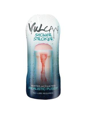 Vulcan CyberSkin® H2O Vulcan Masturbator für die Dusche, realistische Muschi