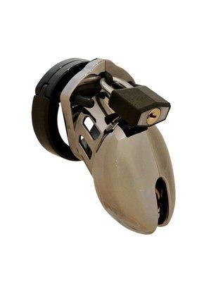 CB-X CB-6000S Keuschheitskäfig - Chrom - 35 mm