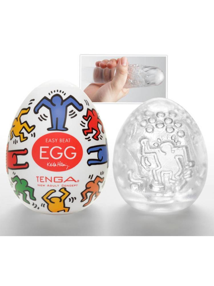 Tenga Keith Haring Egg Masturbator Dance