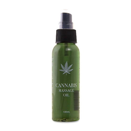 Pharmquests Cannabis Massage Öl - 100 ml