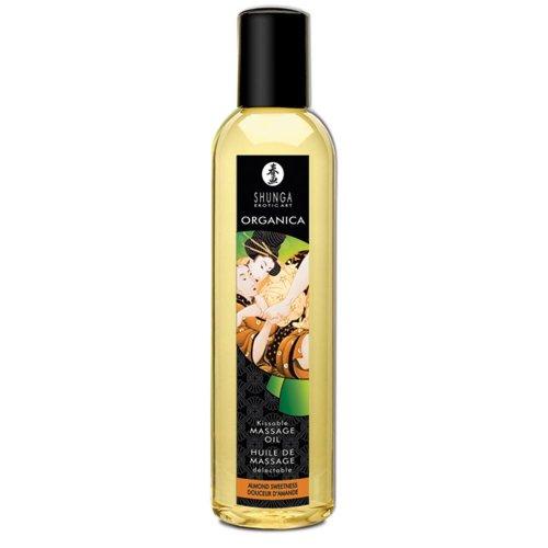 Shunga Organica Massageöl Süße Mandel 250 ml