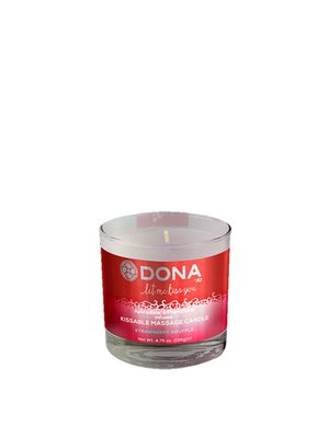 Dona-by-Jo Dona Kissable Massagekerze Erdbeer