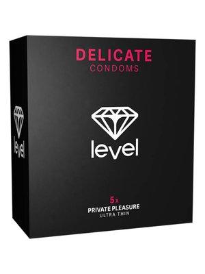 Level Delicate Kondome - 5 Stück