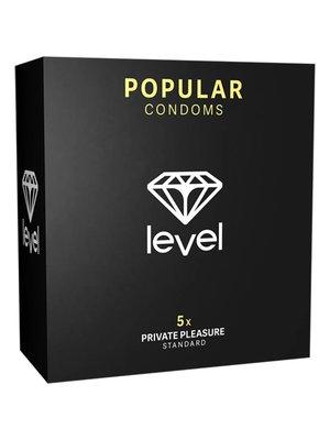 Level Popular Kondome - 5 Stück