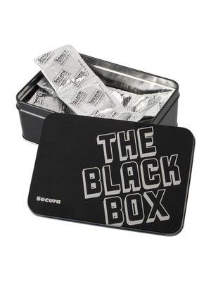 Secura Kondome The Black Box - 50 Kondome