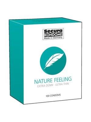 Secura Kondome Nature Feeling Kondome - 100 Stücke