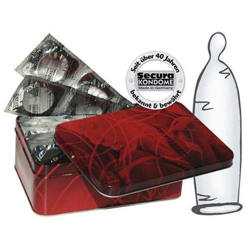 Secura Kondome 50 transparente dünne Kondome