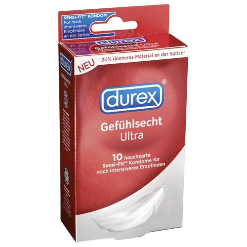 Durex Durex Sensitive Ultra Kondome - 10 Stück