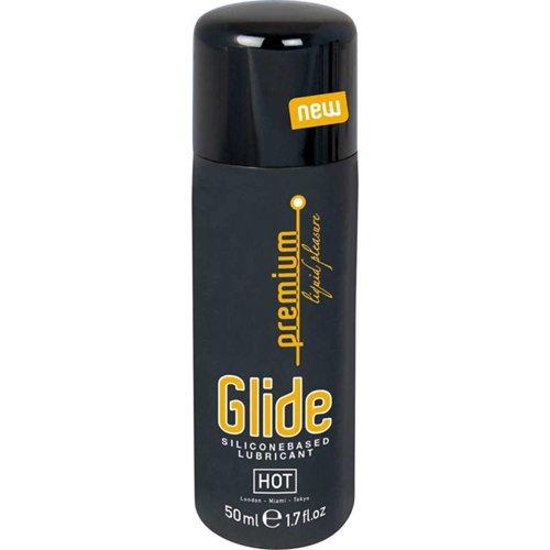 HOT Premium Glide Silikon Gleitgel - 50 ml