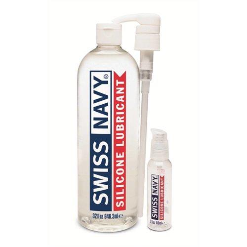 Swiss Navy Swiss Navy Gleitmittel auf Silikonbasis 946 ml