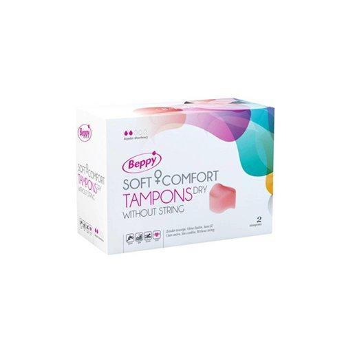 Asha International Beppy Soft + Comfort Tampons DRY - 2 Stück