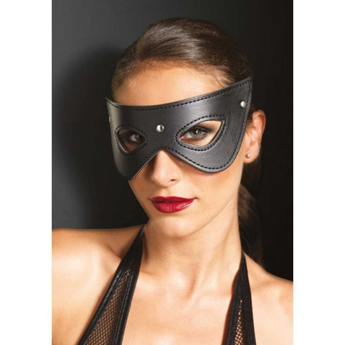 KINK Maske aus Kunstleder mit Nieten