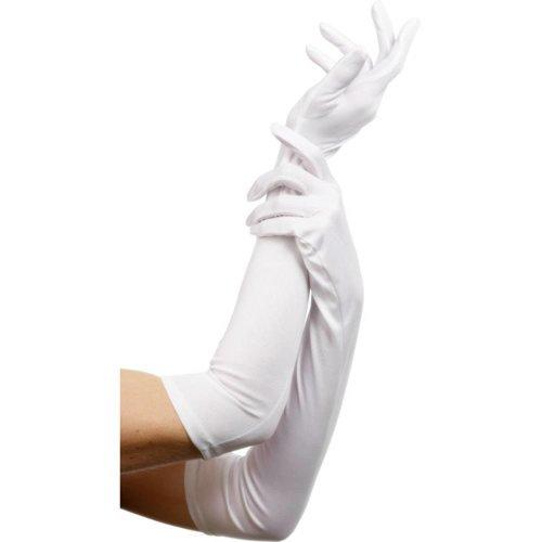 Fever Lange Handschuhe in Weiß