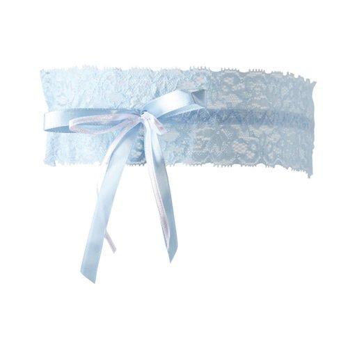 Cottelli Collection Strumpfband blau S-L