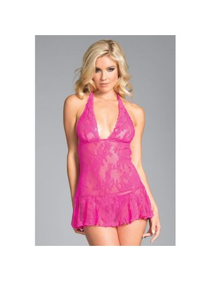 Be Wicked Taylor Babydoll - pink