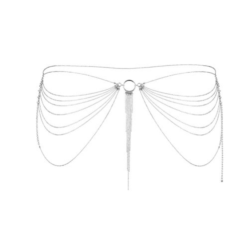 Bijoux Indiscrets Magnifique Taillenkette - Silber