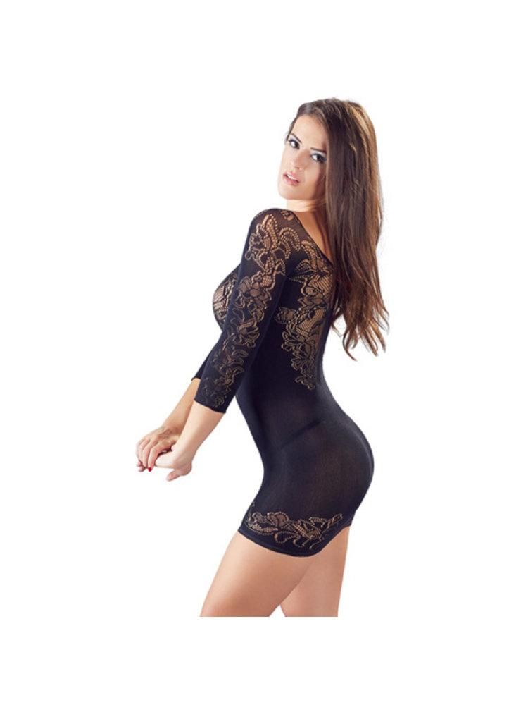 Mandy mystery Line Minikleid aus Netzmaterial