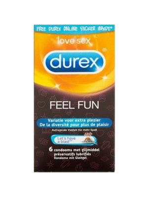 Durex Durex Emoji Feel Fun Kondome - 6 Stück