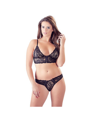 Cottelli Collection Dessous-Set mit Verschluss vorne