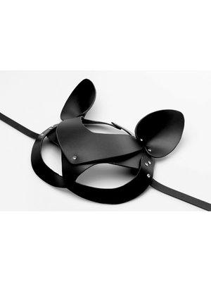 Master Series Bad Kitten - Katzenmaske aus Leder