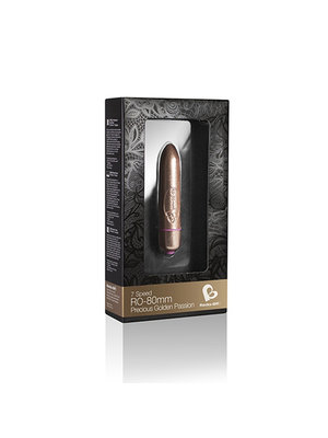 Rocks Off Precious Golden Passion - Bullet Vibrator