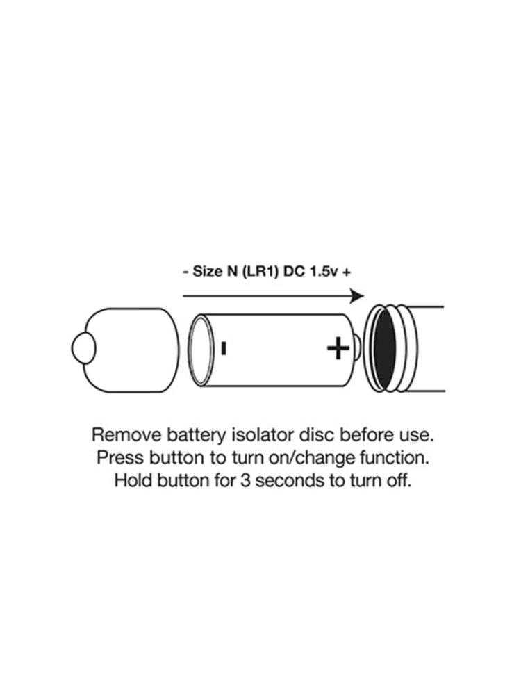 Rocks Off Sir Luvalot - Bullet Vibrator