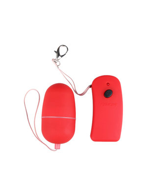 You2Toys Roter Kugelvibrator mit Fernbedienung