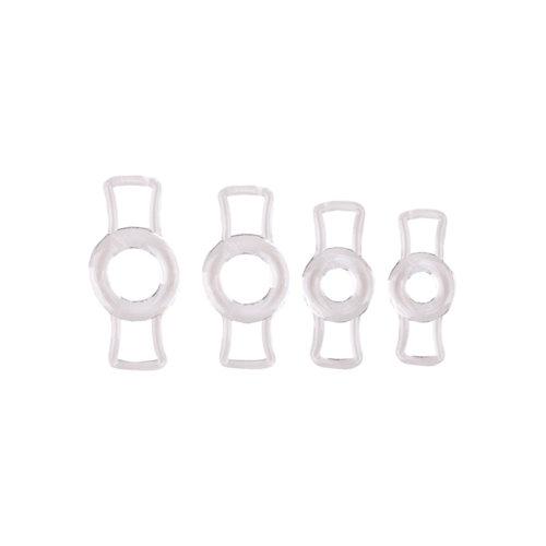 Size Matters Size Matters Endurance Penis Ring Set - Transparent