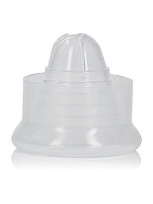 CalExotics Hülle für Penispumpe aus Silikon in Weiß