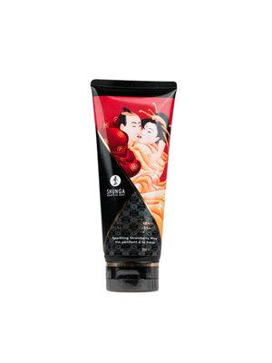 Shunga Kissable Massagecreme - Erdbeerwein