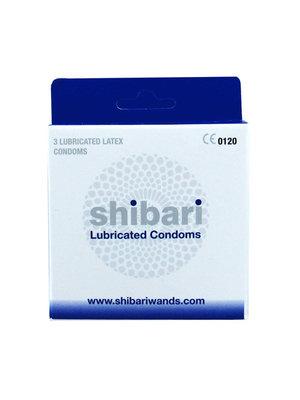 Shibari Shibari Kondome beschichtet - 3 Stück
