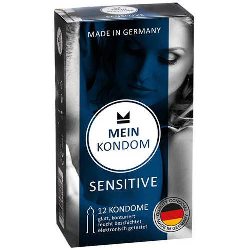 MEIN KONDOM Mein Kondom Sensitive - 12 Kondome