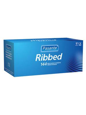 Pasante Pasante Kondome mit Riffeln 144 Stück
