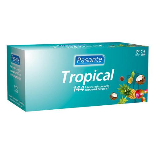 Pasante Pasante Tropical Kondome 144 Stück
